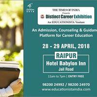 Educationista - Times Distinct Career Exhibition - Raipur18