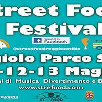 Street Food Festival Reggiolo (RE) 11 12 13 maggio 2018