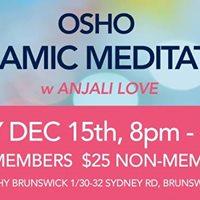 Osho Dynamic Meditation - Brunswick
