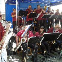 Mai Konzert der Skyline Big Band am Bornh. Weinfest am 7.Mai