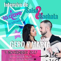 INTENSIVO CON DE SALSABACHATA CON GERO Y MARTA - LA CLAVE