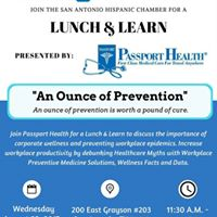 An Ounce of Prevention presented by Passport Health