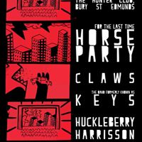 Horse Party Claws Tundra Keys and Huckleberry Harrison