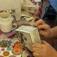 Learn Napkin Decoupage with Liz Lewis