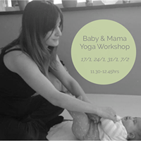 Baby &amp Mama Yoga workshop