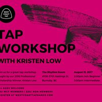 Tap Workshop wKristen Low