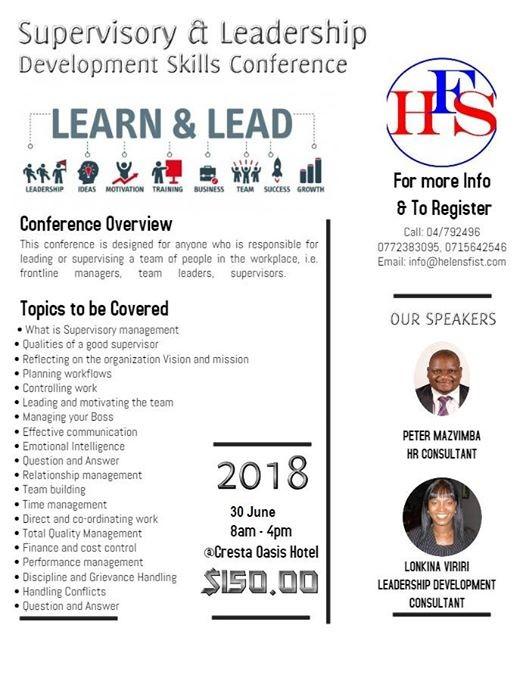 Supervisory & Leadership Development Skills Conference