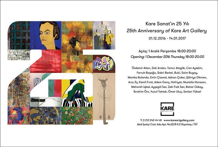 Kare Sanatn 25 Yl  25th Anniversary of Kare Art