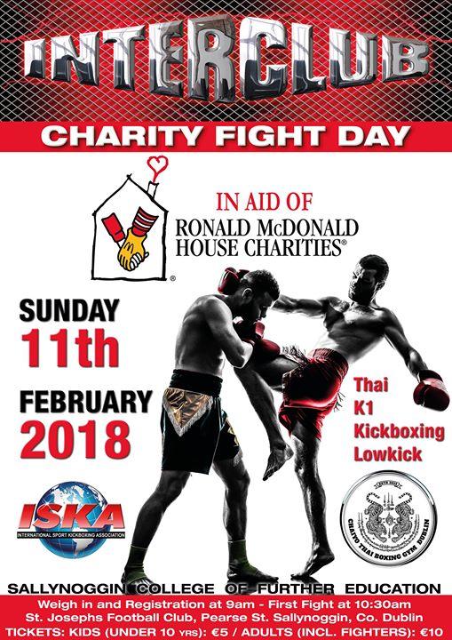 Muay Thai  K-1  Kickboxing Charity Fight Day
