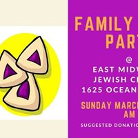 Family Purim Party at EMJC