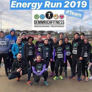 Energy Run 2019 zum Ball des Sports - Team Demmrich