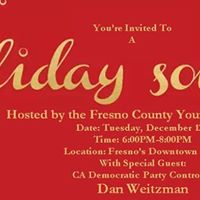 Fresno County Young Democrats Holiday Soiree