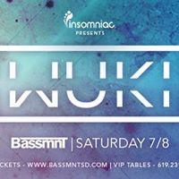 Wuki x Insomniac Events at Bassmnt Saturday 78