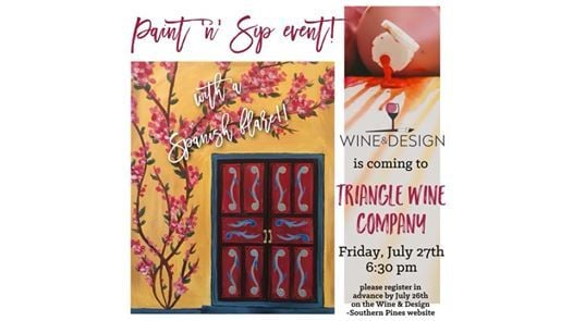 A Night In Spain With Wine Design At Triangle Wine Company