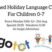 Lingotot Themed Summer Holiday Language Classes For Children 0-7