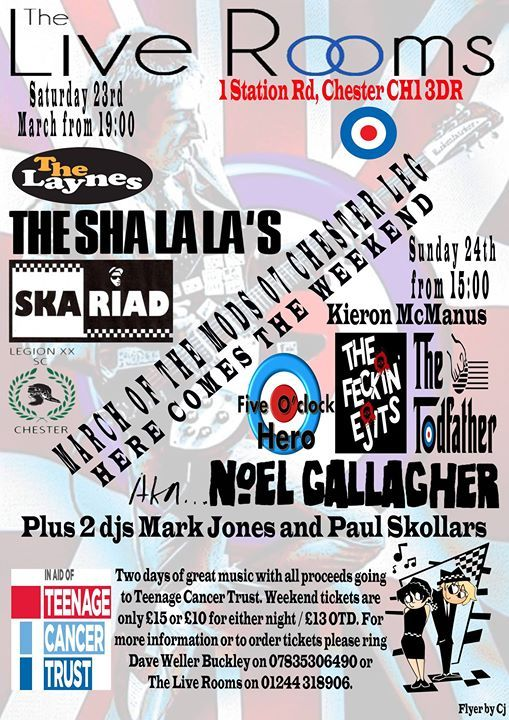 March of the Mods Chester 2019
