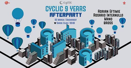 Afterparty Cyclic 9 Years Anniversary