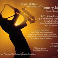 January Jazz At The Moose Lodge