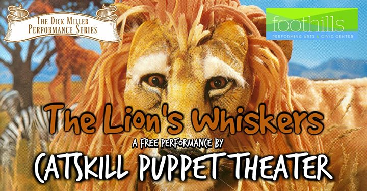 catskill puppet theater free performance at foothills performing