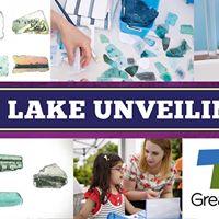 Unveiling of Mi Lake by Artist Vanessa Logan