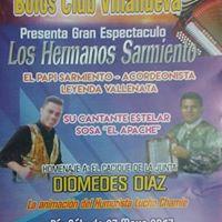 Homenaje a el cacique de la junta Diomedes Diaz