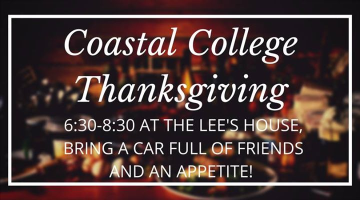Coastal College Thanksgiving