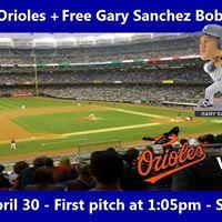 Rensselaer Club of NJ Event Yankees vs. Orioles Game