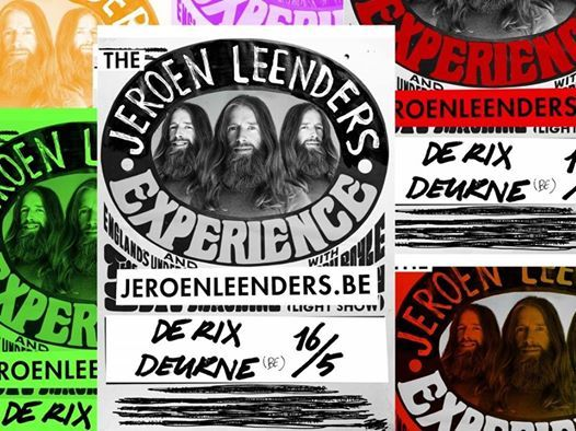Comedy in mei - The Jeroen Leenders Experience
