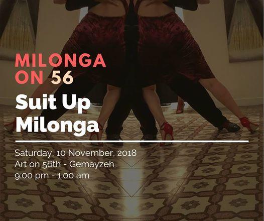 Suit Up Milonga