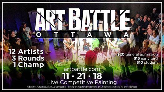 Art Battle Ottawa - November 21 2018
