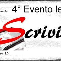 Evento Letterario Scriviamo 4 Ediz