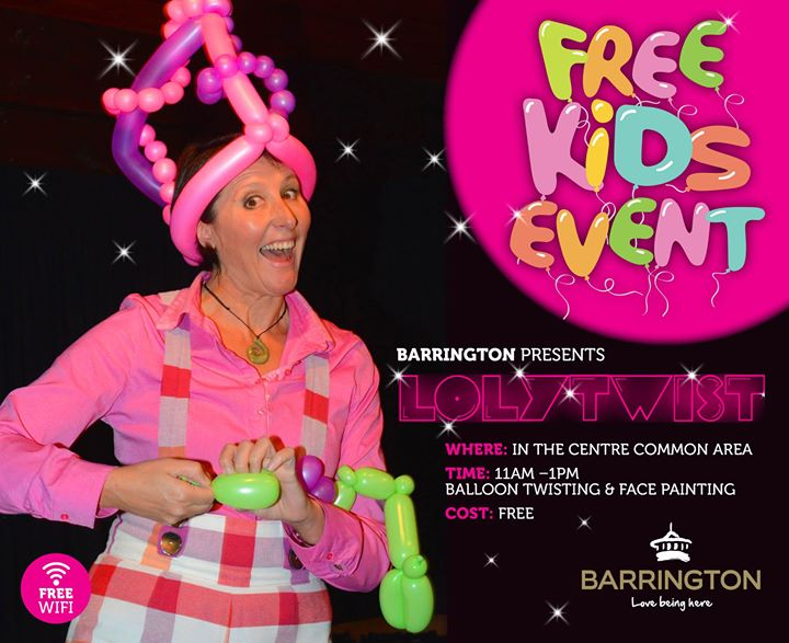 Lolytwist Balloon Twisting And Face Painting At Barrington