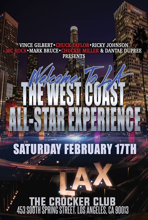 Welcome to La The Westcoast AllStar Experience