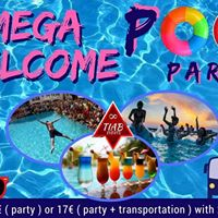 Erasmus Mega Welcome Pool Party