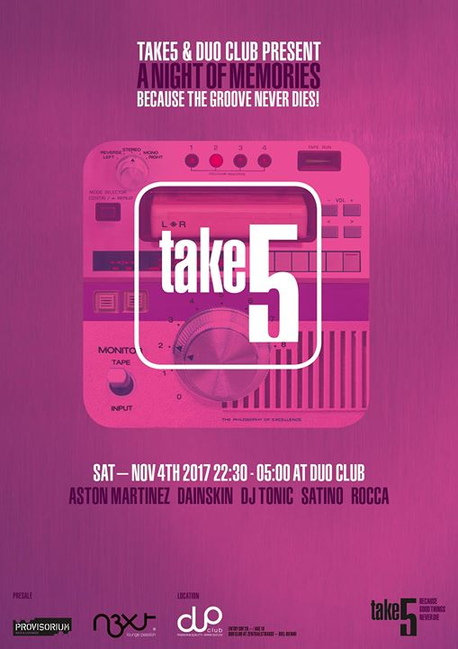 TAKE5 - A Night of Memories 2017