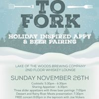 Farm to Fork Holiday Appy &amp Beer Pairing