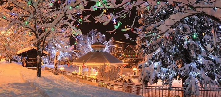 leavenworth christmas tree lighting getaway at christmas lighting festival leavenworth wa leavenworth