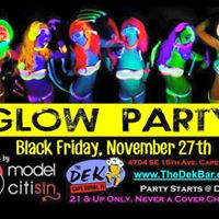GLOW PARTY WITH LIVE MUSIC BY MODEL CITISIN AT THE DEK IN CAPE CORAL