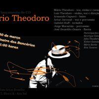 Mrio Teodoro lana CD em Braslia