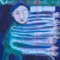 Ebb Tide an art openingexhibit of new works by Ginger Slonaker