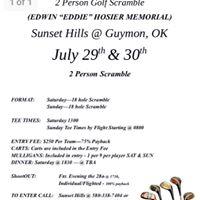 Eddie Hosier Memorial Golf Scramble