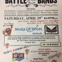 Battle of the Bands for Make-A-Wish