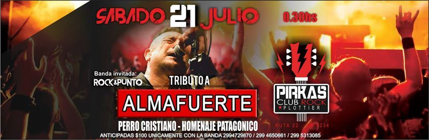Fiesta A Vos AMIGO - Pirkas Plottier Club de Rock