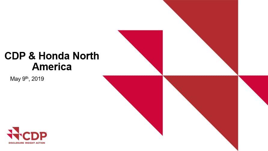 Honda North America >> Honda North America Supplier Cdp Training Raymond