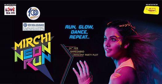 Mirchi Neon Run Ahmedabad