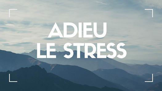 Atelier Adieu le stress