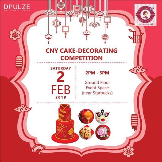 CNY Cake-Decorating Competition at DPULZE Shopping