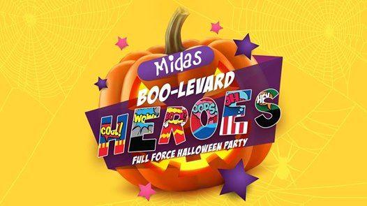 BOO-levard Heroes Full Force Halloween Party