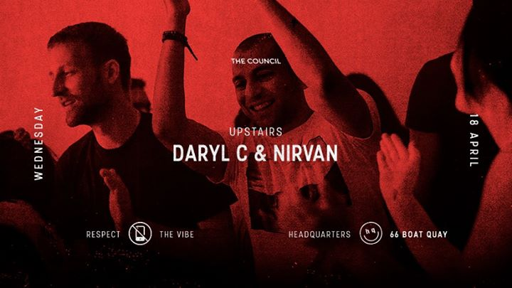 Council Wednesdays Daryl C & Nirvan