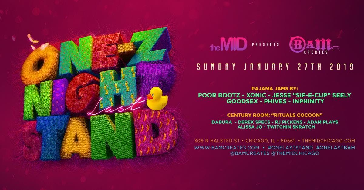 Bam Creates OneZ Night LAST Stand at The MID